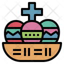 Easter Day Egg Icon