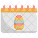 Calendar Easter Day Icon