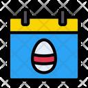 Calendar Easter Celebration Icon