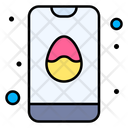 Easter Day Easter Egg Smartphone Icon