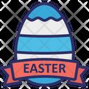 Easter Decoration Easter Egg Egg Badge Icon