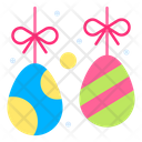 Easter Decoration Hanging Colored Icon