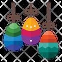 Easter Decoration Decoration Egg Icon