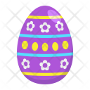 Easter Egg Happy Icon