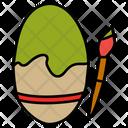 Egg Shell Painting Easter Egg Egg Icon