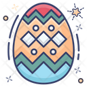 Egg Design Eggshell Easter Egg Icon