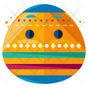 Easter Egg Emoji Icon