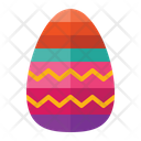 Easter Egg Decoration Egg Icon