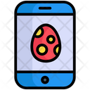 Easter Egg Mobile Smartphone Icon
