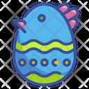 Easter Egg Food Decoraion Culture Spring Season Easter Egg Egg Icon