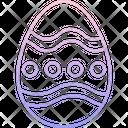 Easter Egg Decorative Egg Celebration Icon