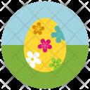 Flower Easter Egg Icon