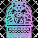 Easter Egg Basket Icon