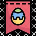 Easter Egg Flag Icon