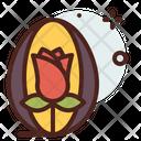 Easter Egg Rose Rose Easter Egg Icon