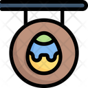 Easter Egg Sign Icon
