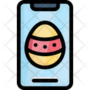 Easter Egg Smartphone Icon