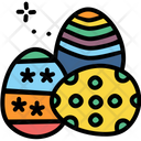 Paschal Eggs Decorate Icon