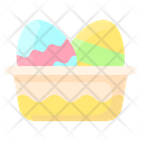 Spring Easter Eggs Easter Icon