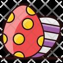 Easter Eggs Eggshell Painting Easter Egg Icon