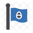 Flag Easter Holiday Icon