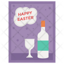 Alcoholic Drink Wine Bottle Champagne Icon