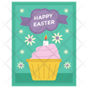 Easter greetings Icon