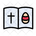 Easter Christmas Book Icon