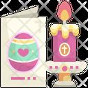 Easter Invitation Icon