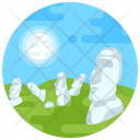 Easter Island Moai Icon