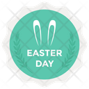 Easter Label Vector Easter Emblem Easter Logo Icon