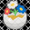 Easter Flower Spring Flower Nature Icon