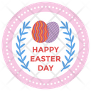 Easter Logo Design Easter Emblem Easter Logo Icon