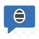 Message Easter Wish Icon