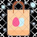 Easter Shopping Easter Bag Shopping Icon