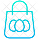 Easter Shopping Bag Icon