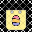 Easter Shopping Bag Icon