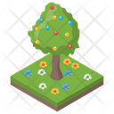 Easter Tree Icon