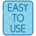 Easy To Use Easy Gesture Icon