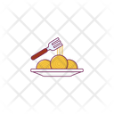 Fork Spoon Food Icon