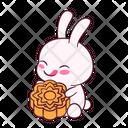 Yum Mooncake Happy Icon