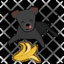 Banana Full Happy Icon