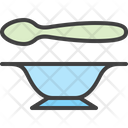 Eat Child Plate Plate Icon