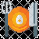 Eat Egg Dinner Eat Icon