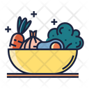 Eat Healthy Food Vegetable Icon