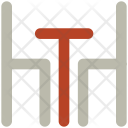Eating Table Dining Icon