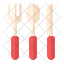 Eating Fork Spoon Icon