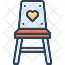 Eating Chair Eating Chair Icon