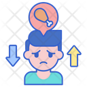 Eating Disorder Disorder Eat Eating Disorder Addtiction Icon