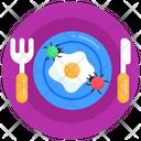 Dirty Egg Fried Egg Eating Egg Prank Icon